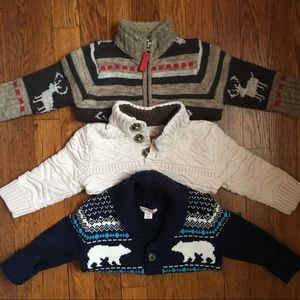 Handsome knitted sweaters bundle
